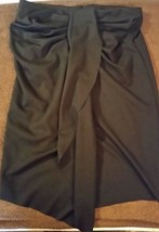 New York and Company Woman's Black Skirt Flare Career Dress Size 8 - $10.29