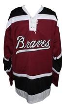 Terry o reilly boston braves retro hockey jersey 1970 maroon   1 thumb200