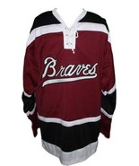 Terry o reilly boston braves retro hockey jersey 1970 maroon   1 thumbtall