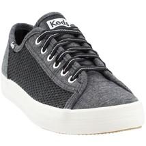 Keds WF58558 Women's Kickstart Mesh Jersey Sneaker Charcoal Size 9 - $49.49