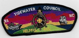 Tidewater Council SA-19 Friends of Scouting FOS Helpful CSP - $9.90