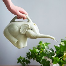 Plastic Elephant Watering Can 2 quart Gardening Tool Plant Outdoor Rando... - $8.00