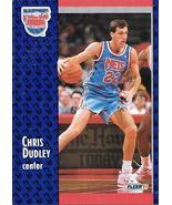 Chris Dudley ~ 1991-92 Fleer #131 ~ Nets - $0.05