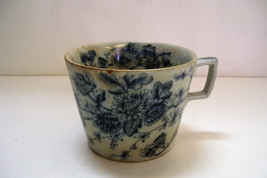 Antique Flow Blue Cup Only Rd England AS IS - Great Display Piece - $17.99
