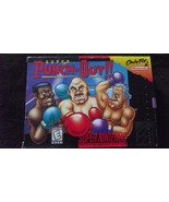 Super Punch-Out!! (Super Nintendo SNES, 1994) COMPLETE with box and manu... - $56.99