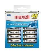 Maxell 723443 - LR648B Alkaline Batteries (AA; 48 pk; Box) - $32.21