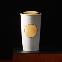 Starbucks White Feather  Double Wall Insulated Traveler/10 fl oz - $32.95