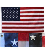 Deluxe 4x6 US USA flag American EMBROIDERED Stars & Sewn Stripes Double ... - $54.00