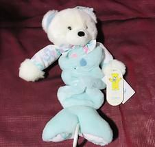 "Vintage Carter's Prestige 18"" Teddy Bear Musical Crib Pull Toy HTF Rare NWT - $148.50"
