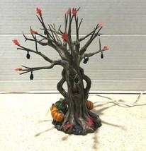 Department 56 Snow Village Halloween Lit Spooky Tree #56.52896 (Retired ... - $32.38
