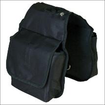 Hilason Western Tack Horse Horn Bag Black Pockets U-3741 - $22.72