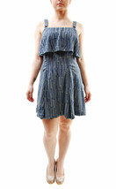 Free People Women's Paper Flowers Printed Mini Dress Grey Size XS £74 BCF65 - $67.95