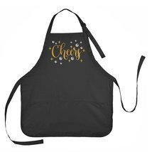 Party Apron, Cheers Apron, New Years Eve Apron, Celebration Apron - $22.33 CAD