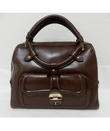 Jimmy Choo Brown Leather Bag $2K - $395.00
