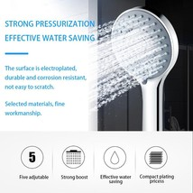 Adjustable Jetting Shower Head - $14.98