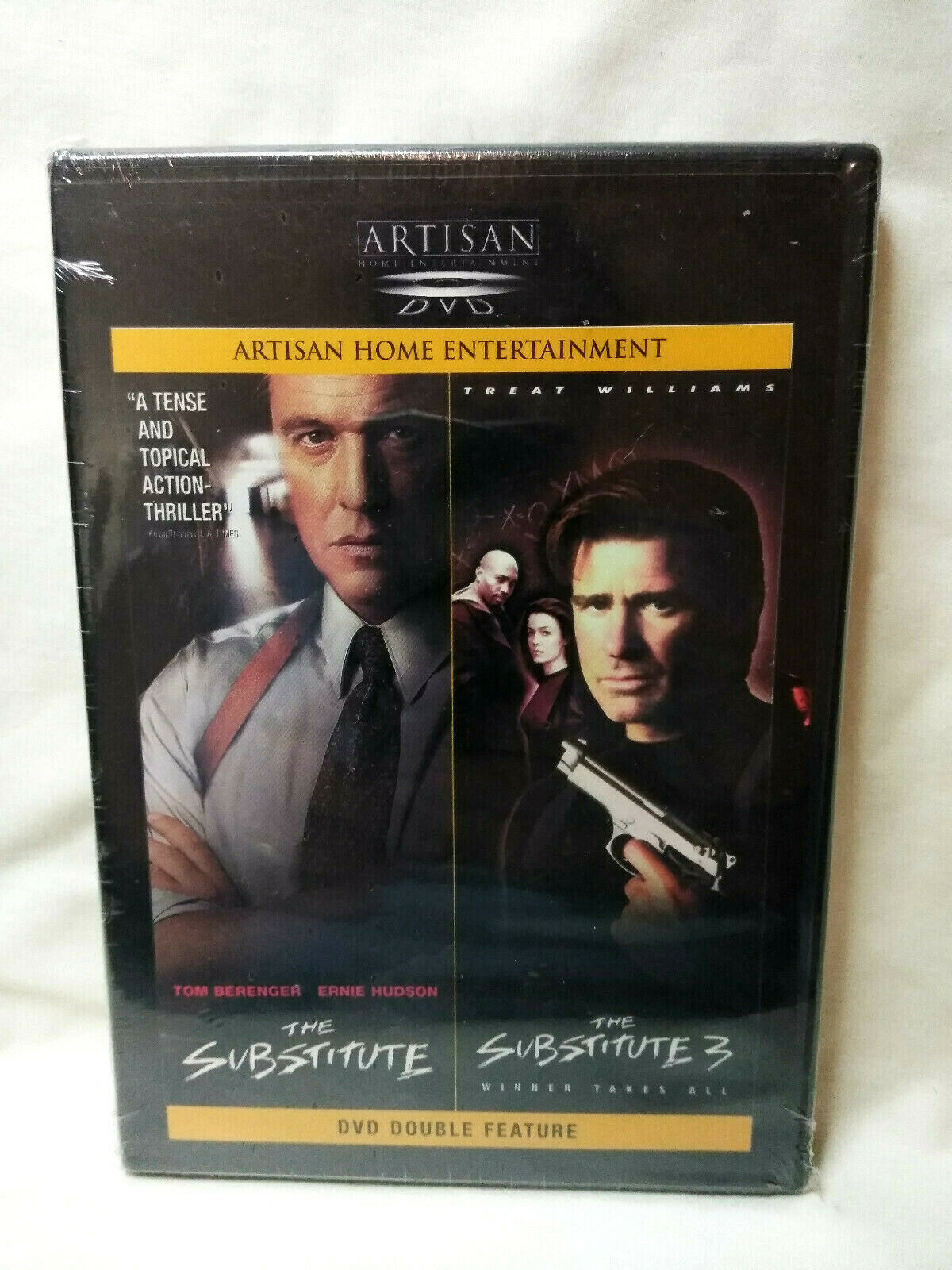 The Substitute/The Substitute 3 (DVD, 2001, Sensormatic) New Sealed