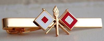 Primary image for US Army Signal Corps Tie Clip