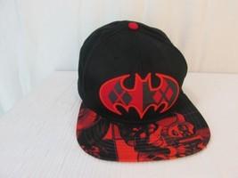 Harley Quinn Batman Red Black Snapback Hat Cap Original DC Comics One Si... - $24.99