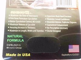 100% Genuine Rhino 12 Premium 15000 Male Sexual Performance Enhancer image 8