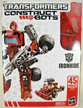 Transformers Construct Bots IRONHIDE Scout Class E1:01 45 Pieces Hasbro New - $23.49