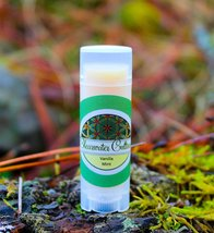 Vanilla Mint Lip Balm, Probiotic, Organic,- .15 oz. Oval Tube - $4.00+