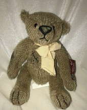 "Russ Mohair Collection Bartholomew Teddy Bear Stuffed Animal Plush 9"" - $22.24"