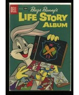 Four Color #838 VG/F 1957 Dell Bugs Bunny's Life Story Album Comic Book - $7.61