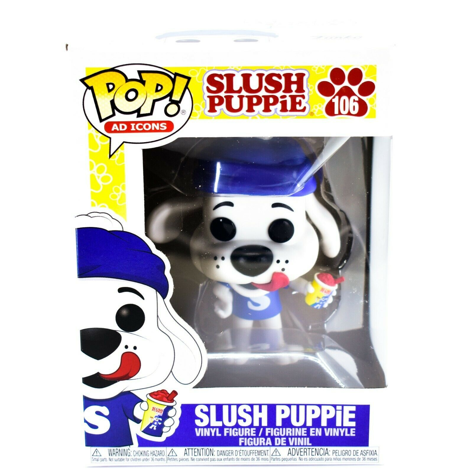 Funko Pop! Ad Icons Icee Slush Puppie #106 Vinyl Action Figure