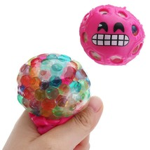 Random Colour Stress Relief Toys Mesh Squishy Stressball Squeeze Toys - $9.98