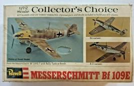 Vintage 1974 Revell Collector's Choice 1/72 Scale German Messerschmitt B... - $32.99