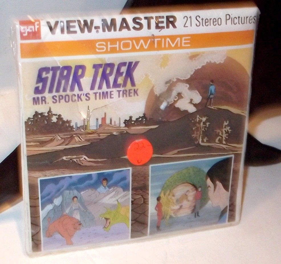Primary image for 1974 Star Trek ✰ Mr. Spock's Time Trek ✰ Viewmaster complete BRAND NEW SEALED