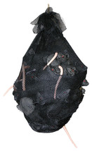 Black Net Bag With A Bundle Of Rats Halloween Prop Animated Haunted House - $24.90