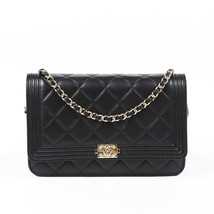 Chanel Boy Wallet on Chain Quilted Crossbody - $2,110.00
