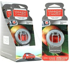 4 Count Yankee Candle 0.13 Oz Macintosh Smart Scent Vent Clip Air Freshener - $23.99