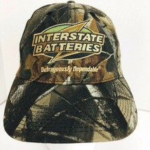 Interstate Batteries Camo Camouflage Realtree Snapback Cap Hat Baseball  - $27.71