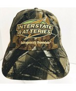 Interstate Batteries Camo Camouflage Realtree Snapback Cap Hat Baseball  - $27.71
