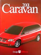 2001 Dodge GRAND CARAVAN sales brochure catalog US 01 SE Sport ES - $7.00