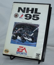 NHL 95 Sega Genesis & Case EA Sports Hockey NHLPA - $9.74