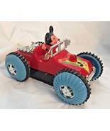 VINTAGE MICKEY MOUSE MOTOR CAR...ELECTRIC..WORKING...VERY RARE - $46.74