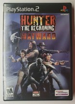 Hunter: The Reckoning Wayward Sony PlayStation 2 PS2 CIB Black Label - $11.87