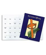 My Lenten Offering Coin Easter Tithing Folders with Dated Slots, Pack of 50 - $64.35