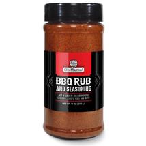XL Jar Oh Mama! BBQ All American Seasoning Mix, Dry Rub Perfect for Hogs, - $12.86