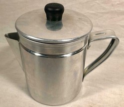 VINTAGE IMUSA 4 CUP STOVE TOP COFFEE MAKER MADE IN COLUMBIA - $19.79