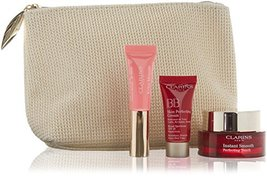 Clarins Set 4pc Instant Beauty Set with Travel Bag Boxed - $73.50