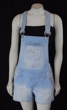 NWT Maurices Woman's Overall Denim Jeans Light wash Shorts Stretch 1-14 - $6.00