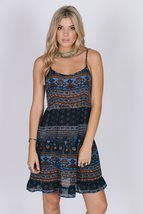 Midnight Blues Strappy Dress - $86.00