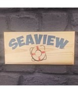 Personalised Life Bouy Sign Harbour Beach Hut Sea Cottage House Name Nau... - $11.20