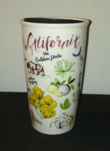 California Starbucks Tumbler Mug 2016 10 Oz w/ Lid Travel Coffee Tea Hom... - $33.94