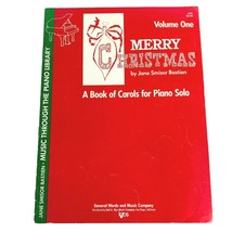 1965 Merry Christmas A Book of Carols for Piano Solo Jane Smisor Bastien... - $5.90