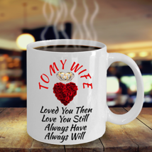 Birthday Gift For Wife Wedding Anniversary Surprise Her Color Changing Magic Mug - $19.79